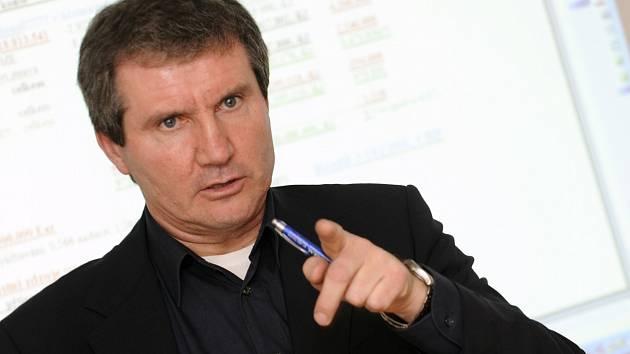 Jiří Kubíček, na snímku z roku 2009, kdy patřil k nejvlivnějším funkcionářům v českém fotbale