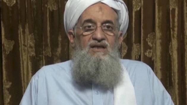 Vůdce teroristické organizace Al-Káida Ajmán Zavahrí.