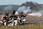 Velký význam měl v bitvě protiútok Francouzů přes Pracký kopec