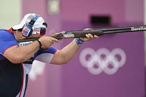 Český brokový střelec Jiří Lipták získal olympijské zlato.