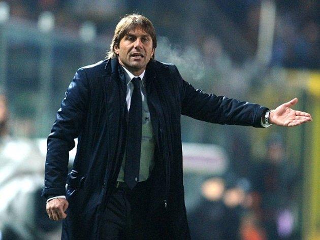 Trenér Juventusu Turín Antonio Conte.