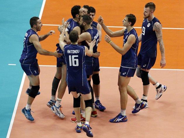 Volejbalisté Itálie si v Riu zahrají o zlato.