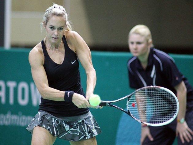 Klára Koukalová na turnaji v Katovicích.