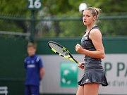 Kristýna Plíšková na Roland Garros.
