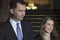 Španělský král Felipe VI. a královna Letizia.