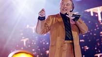 Na udílení hudebních ceny Anděl 2007zazpíval Karel Gott