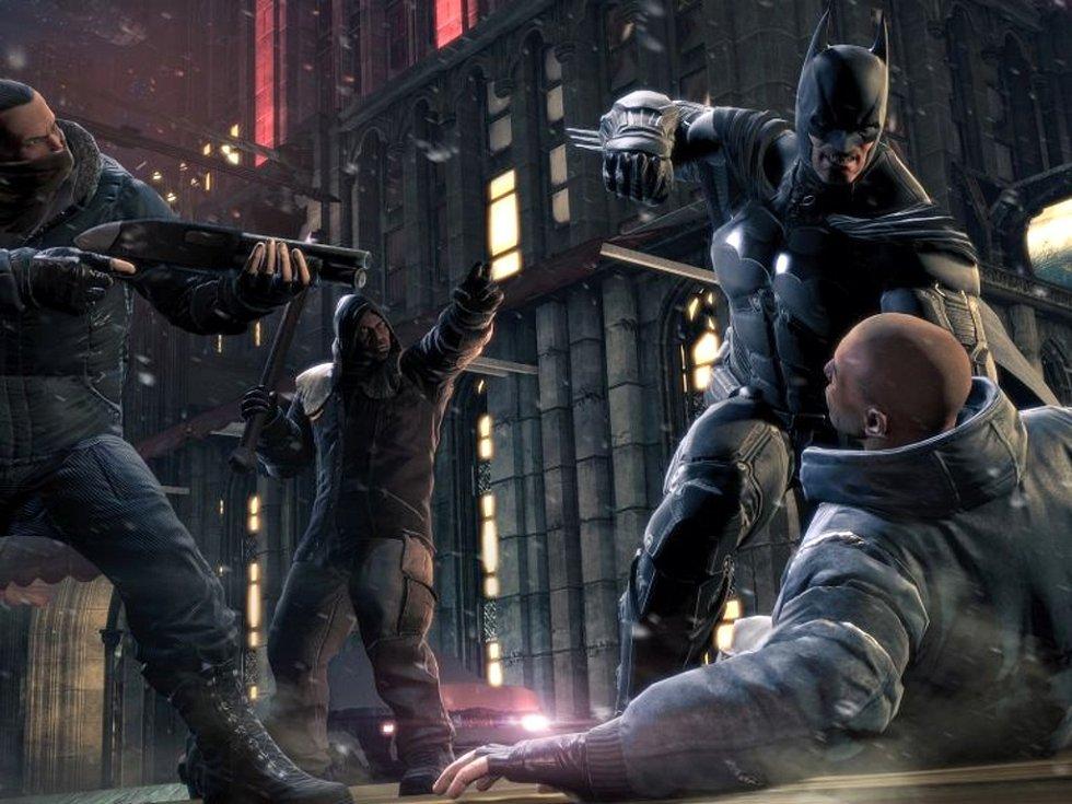 Počítačová hra Batman: Arkham Origins.