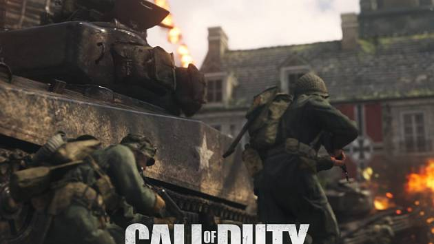 Počítačová hra Call of Duty: WWII.
