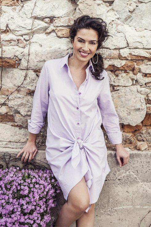 Slovenská herečka Lucia Siposová