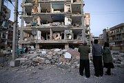 Írán a Irák zasáhlo zemětřesení