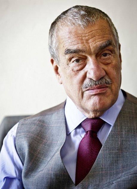 Předseda TOP 09Karel Schwarzenberg.