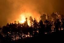 Požár na Kanárských ostrovech