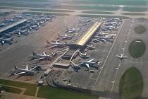 Letiště Heathrow v Londýně, ilustrační foto.