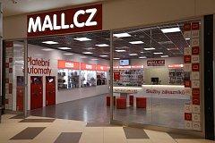 Pobočka společnosti Mall.cz kombinující výdejní místo a klasickou prodejnu