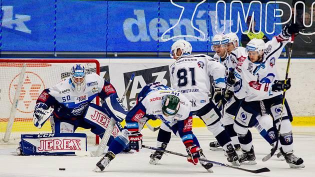 Hokejová extraliga: Plzeň - Kometa Brno
