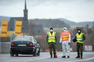 Kontroly na hranici s Rakouskem