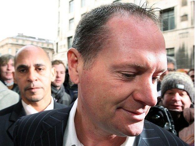Bývalý anglický reprezentant Paul Gascoigne.