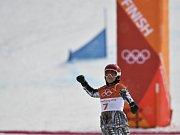 Zlatá snowboardistka Ester Ledecká