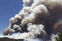 Na jihozápadě USA zuří požáry