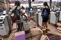 Terminál 4 letiště Changi v Singapuru