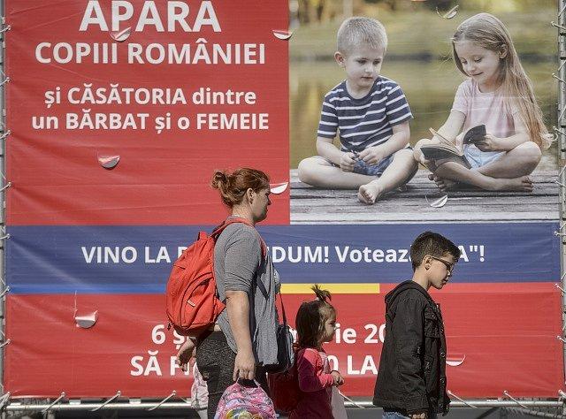 Kampaň za referendum o rodině v Rumunsku