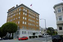 Ruský konzulát v San Franciscu.
