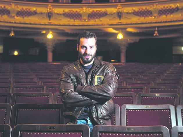 Václav Noid Bárta chystá show ve stylu koncertů Robbieho Williamse.