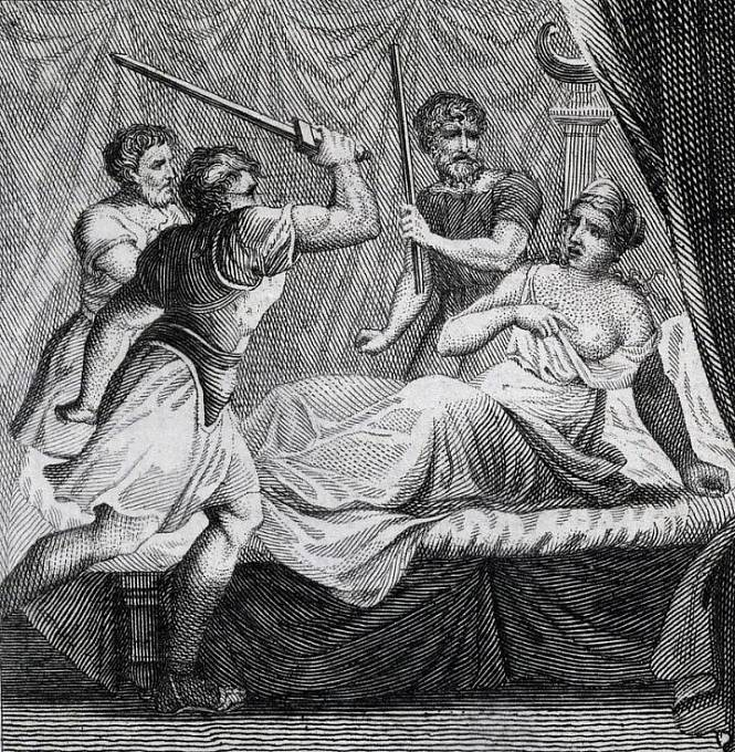 Smrtí se nevěra trestala i ve starém Římě