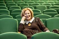 Ředitelka Divadla Spejbla a Hurvínka Helena Štáchová.