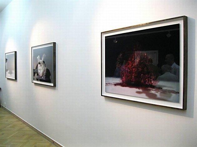SNÍMKY NEMAJÍ PŘESNĚ DOKUMENTOVAT TVAR, zato mají působit jako obraz času, říká ovystavovaném souboru autor Evžen Šimera.