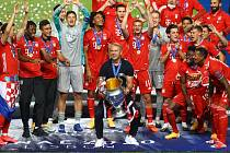 Fotbalisté Bayernu po triumfu v Lize mistrů