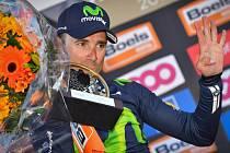 Alejandro Valverde získal rekordní čtvrté vítězství na Valonském šípu.