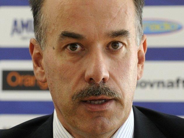 Šéf slovenského hokeje Igor Němeček.