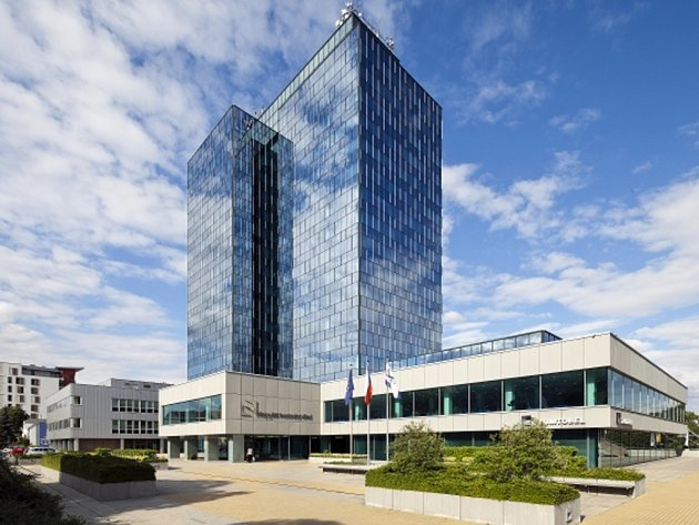 Sídlo Nejvyššího kontrolního úřadu (NKÚ) v Praze.