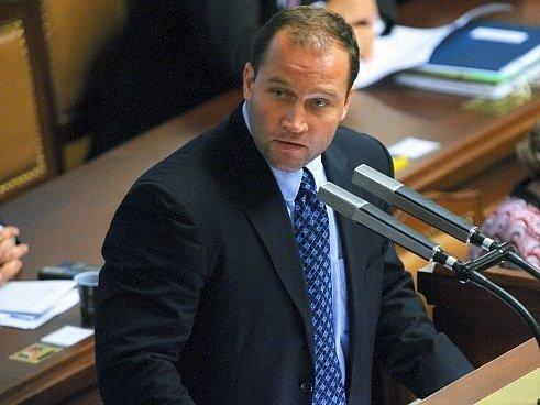 Jiří Šlégr ve Sněmovně