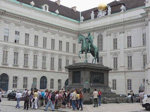 Císařský palác Hofburg ve Vídni