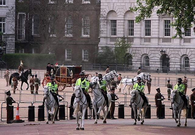 V Londýně vrcholí přípravy svatby prince Williama a Kate Middletonové