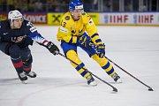 Semifinále mezi Švédskem a Spojenými státy skončilo vítězně pro Seveřany