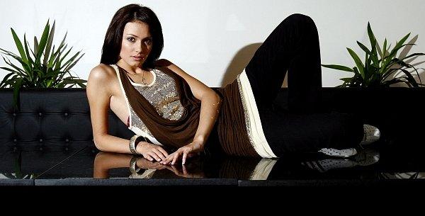 Česká miss 2008 Eliška Bučková zapózovala Deníku