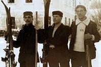 Bohumil Hanč, Václav Vrbata a Emmerich Rath