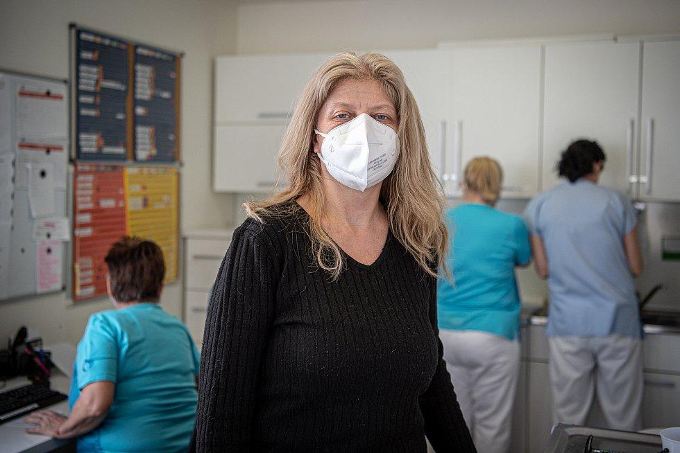 Lékařka Šárka Mostýnová a její ordinace