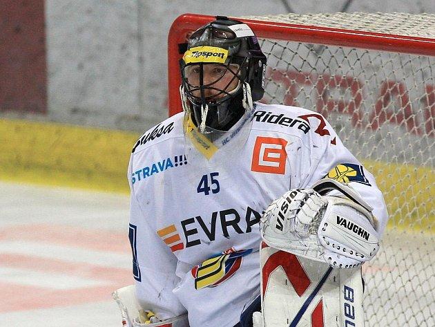 Gólman Vítkovic Roman Málek.