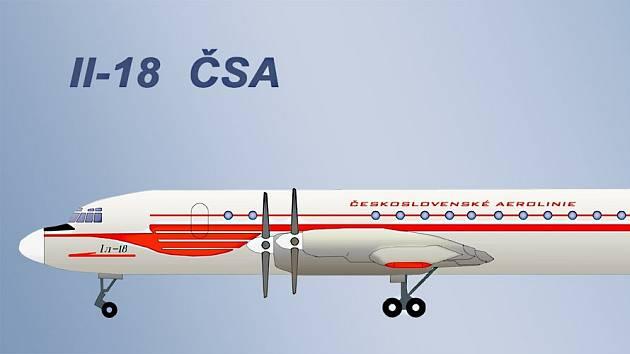 Letadlo Iljušin II-18 společnosti ČSA se 28. července zřítilo do jezera Zlaté Piesky.