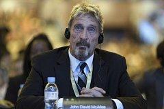 Bezpečnostní expert John McAfee