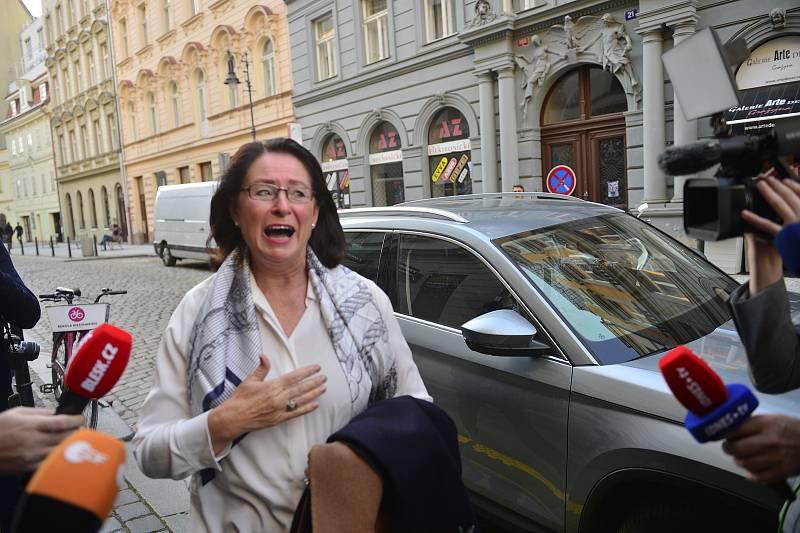 Miroslava Němcová přichází do štábu koalice Spolu
