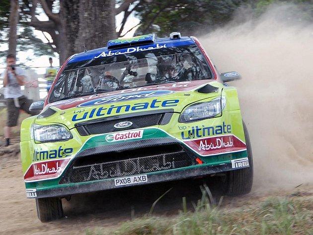 Po první etapě Australské rallye vede Fin Jari-Matti Latvala.
