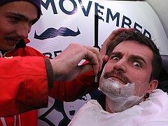 Celosvětová akce Movember podporuje boj s rakovinou prostaty. Ilustrační foto.
