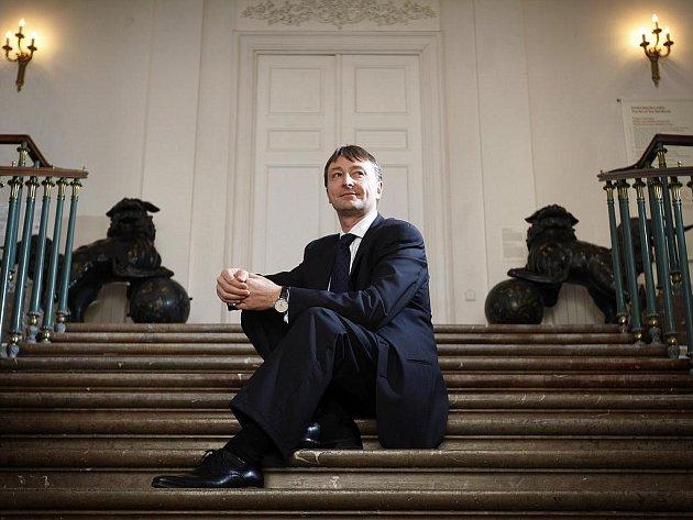 Ředitel Národní galerie Vladimír Rösel poskytl Deníku rozhovor.