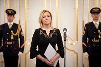 Nová ministryně vnitra Slovenské republiky Denisa Saková