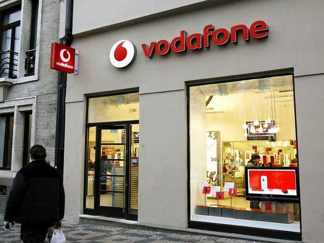 Prodejna Vodafone/ilustrační foto